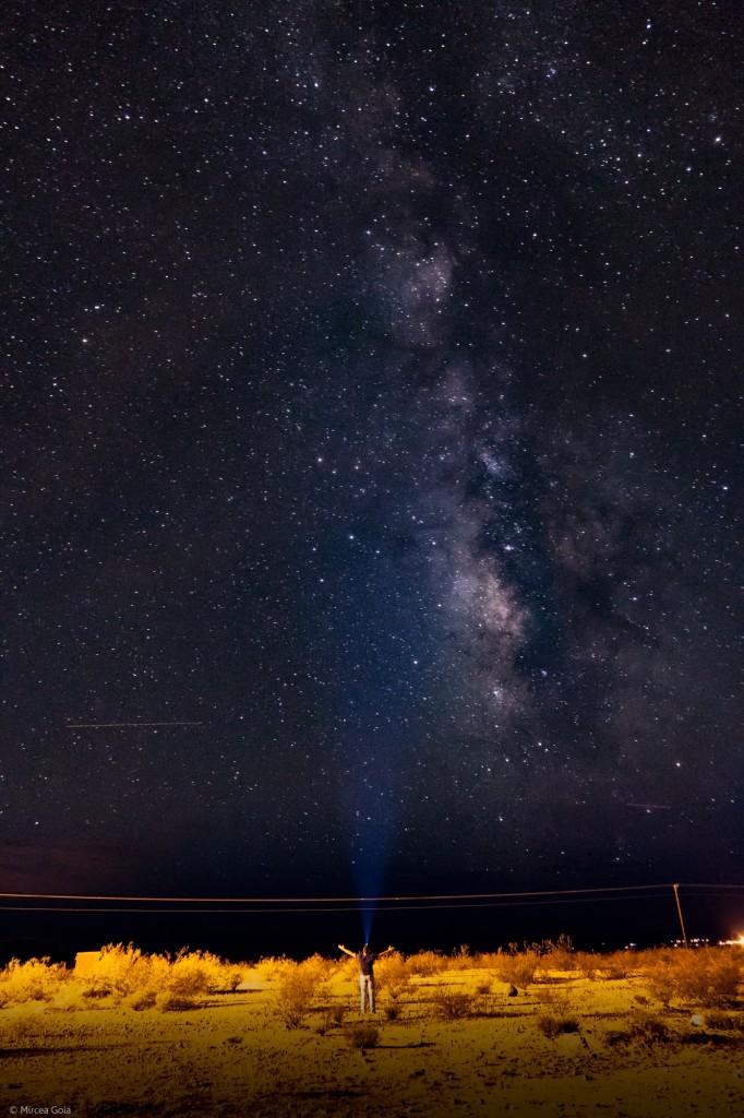 Milky Way 80 miles west from Phoenix